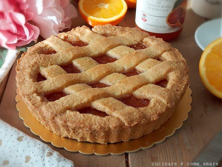 Crostata della nonna all'arancia