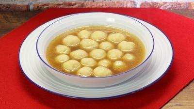 Zuppa di gnocchetti di semolino