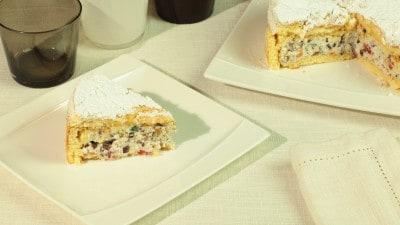 Cassata siciliana senza copertura
