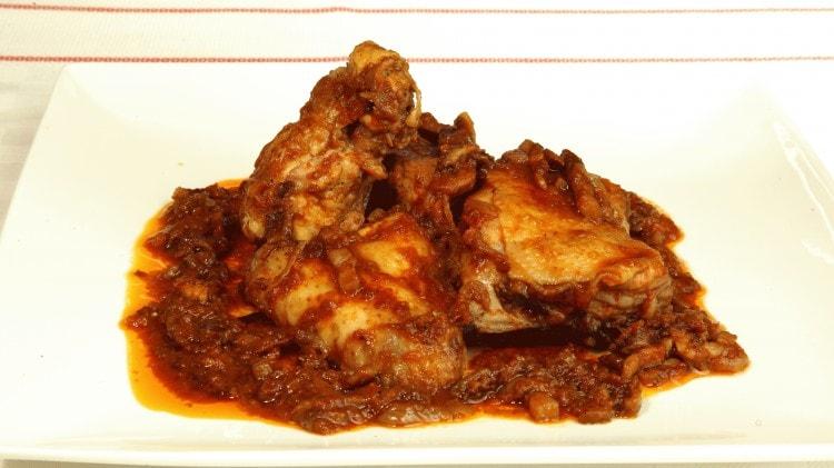 Pollo alla cacciatora alla romagnola