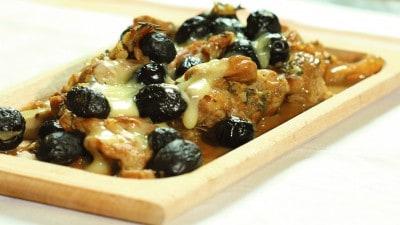 Agnello con olive e finocchietti