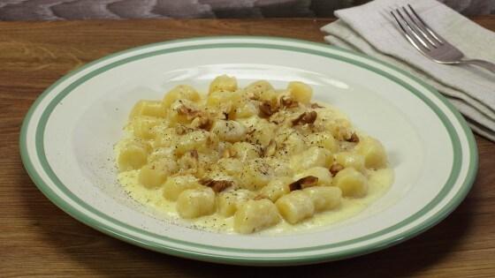 Gnocchi al Castelmagno