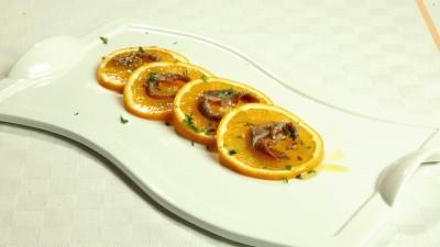 Antipasto di arance