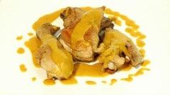 Pollo allo zafferano