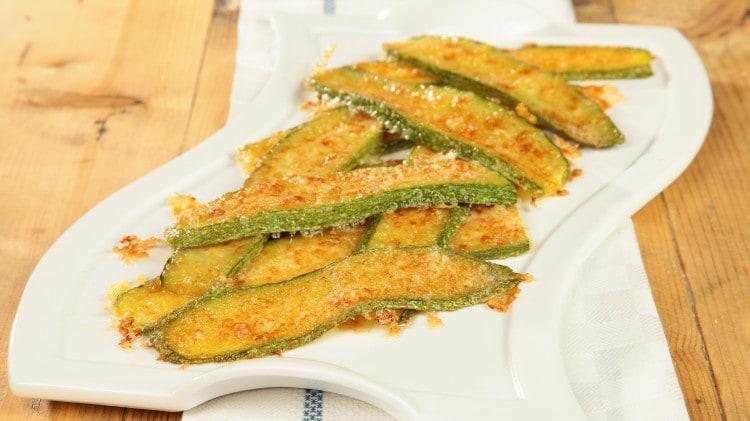 Zucchine al formaggio abruzzesi