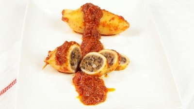 Calamari ripieni alla napoletana