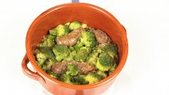 Salsicce coi broccoli