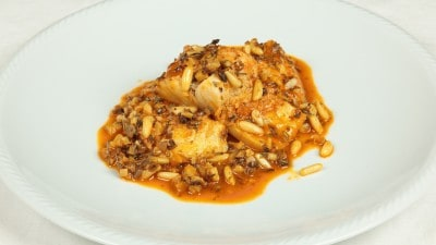 Baccalà all'agrodolce