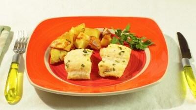 Baccalà al forno con patate alla molisana