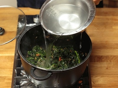 how to cook and serve cavolo nero