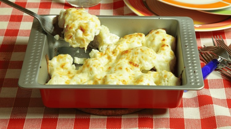 Cavolfiore gratinato in forno