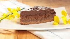 Cheesecake alla mousse di cioccolato