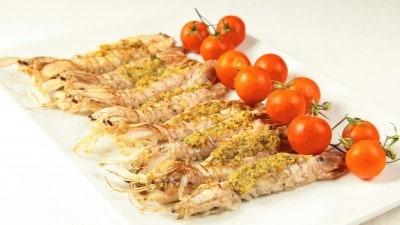 Canocchie al forno