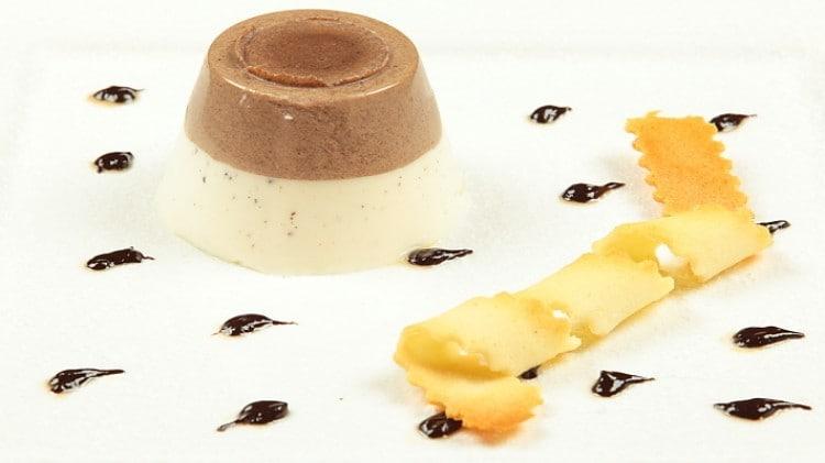 Panna cotta bigusto panna e cioccolato
