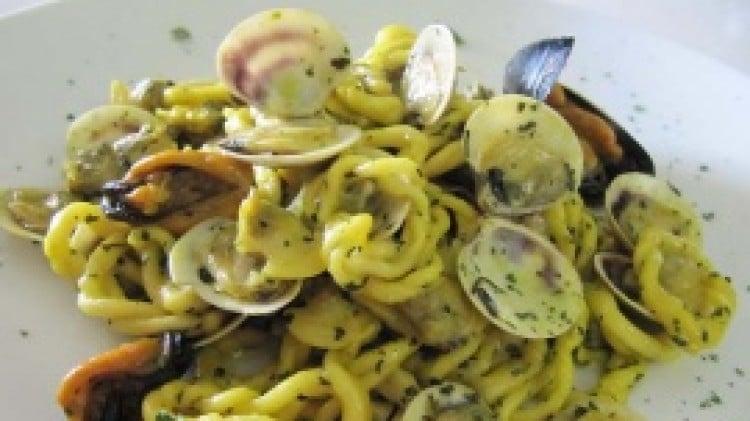 Lorighittas ai frutti di mare
