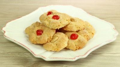 Biscottini alle mandorle semplici