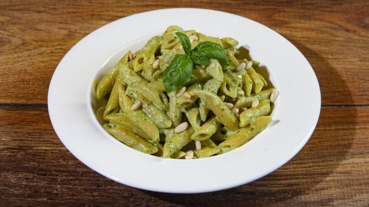 Penne Pesto e Mascarpone