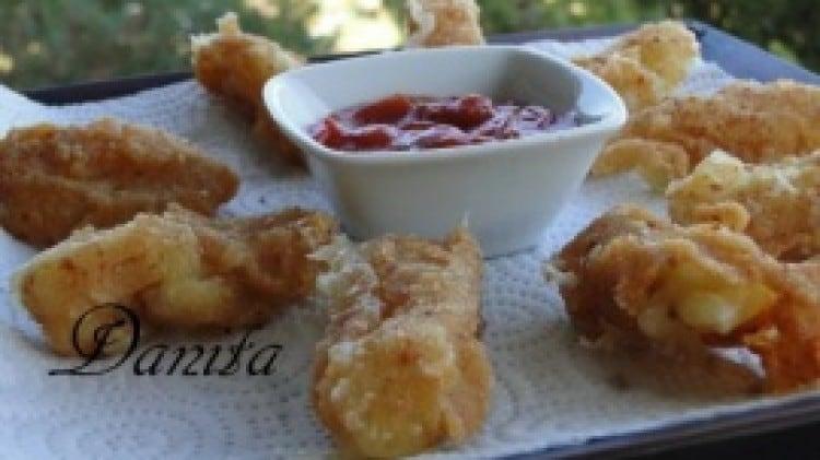 Bastoncini di mozzarella fritti di Danita