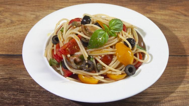 Spaghetti al pomodoro crudo di bob955