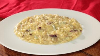 Risotto cipolla e gorgonzola