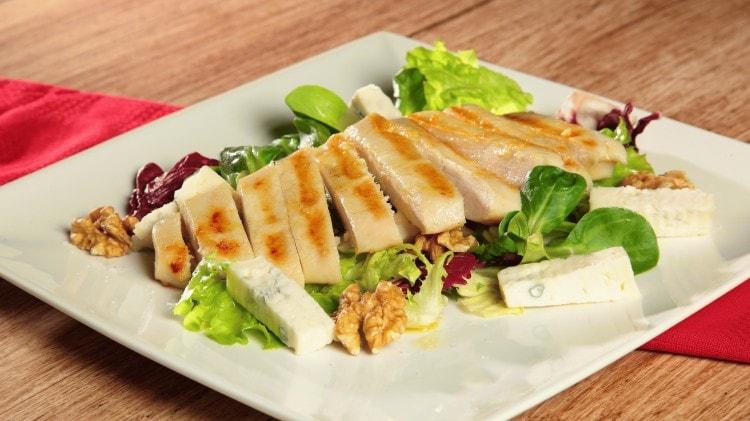 Insalata pollo e gorgonzola