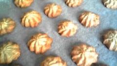 Biscotti di pasta frolla montata