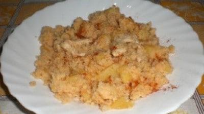 Couscous con pollo, patate e zenzero