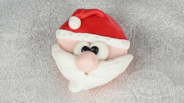 Cupcake con Babbo Natale