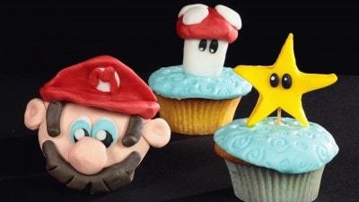 Cupcakes stella e fungo