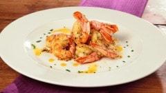 Gamberoni all'aglio