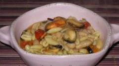Cavatelli fagioli e cozze