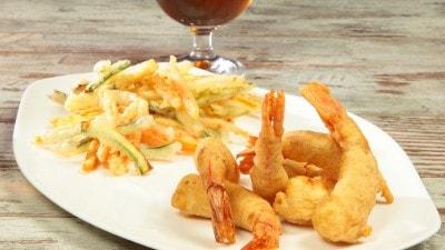 Gran fritto in tempura alla birra