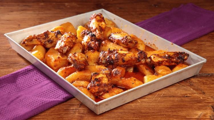 Alette di pollo alla messicana cookaround for Cucinare x cena