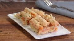 Zucca fritta con la pastella di Rosel