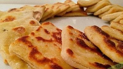 Pizzette di ceci
