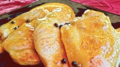 Pollo all'arancia profumato al pepe Sarawak