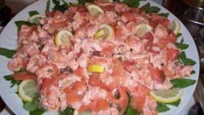Salmone ai 3 pepi