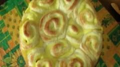 Torta di rose alla crema di limone