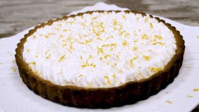 Crostata limone e cioccolato bianco