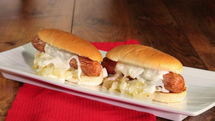 Hot dog spaziale