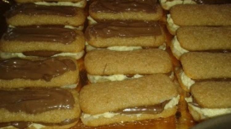 Baci di pavesini cioccolato e crema