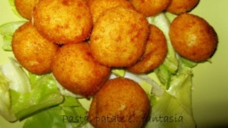 Crocchette di mozzarella