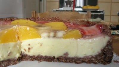 Cheesecake alla crema di mascarpone e frutta