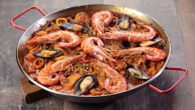 Paella Valenciana ricca e gustosa