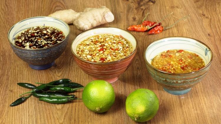 Salsa di pesce allo zenzero - Nuoc mam gung
