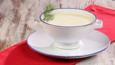 Zuppa di cetrioli fredda