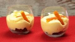 Mousse all'arancia