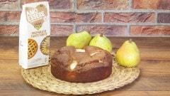 Torta senza glutine alle pere e cioccolato