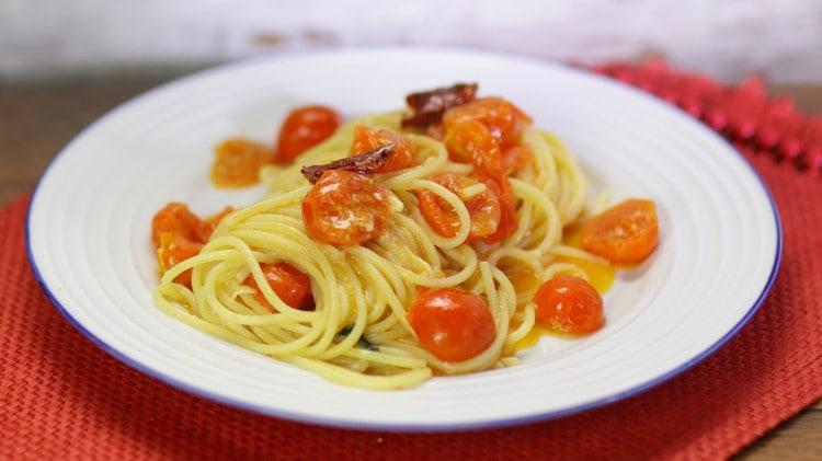 Spaghetti ai pomodorini piccanti