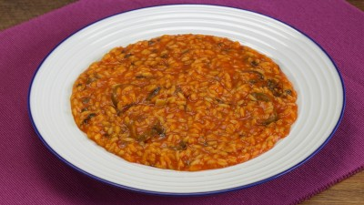 Risotto all'arrabbiata